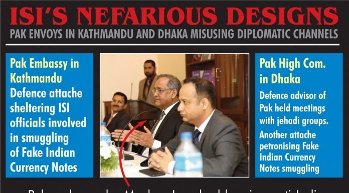 Pak Envoys in Kathmandu and Dhaka misusing diplomatic channels