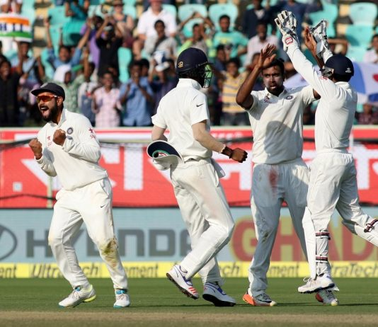 Visakhapatnam Second Test - IND vs ENG