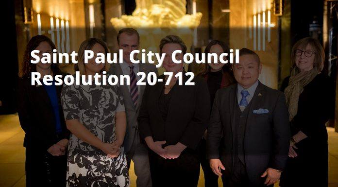 St Paul City council Res 20-712