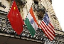 India-China-USA-Flag