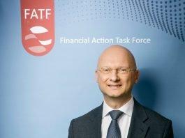 FATF President Dr Marcus Pleyer